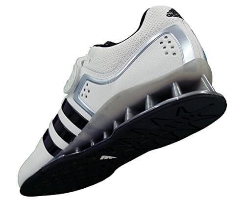 Adidas Adipower Gewichtheberschuhe Bilder von Hinten