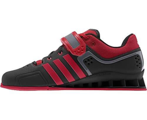 Adidas Gewichtheberschuhe Adipower rot schwarz