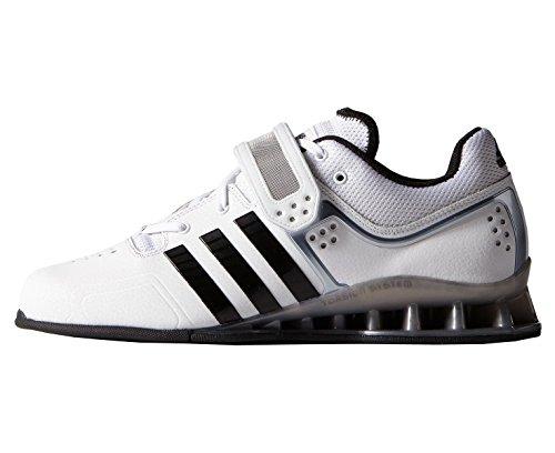 Adidas Adipower Gewichtheberschuhe in weiß