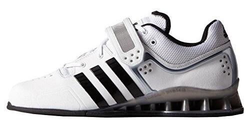 Adidas Adipower Gewichtheberschuhe Test in weiß