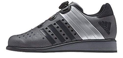 graue Adidas Gewichtheberschuhe Test Drehkraft