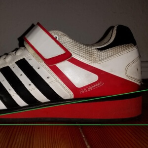 Gewichtheberschuh adidas power perfect 2