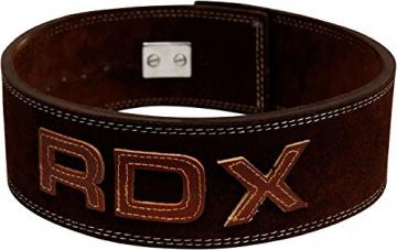 RDX Gewichthebergürtel leder