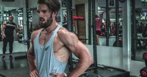 Sjard Roschner im Gym